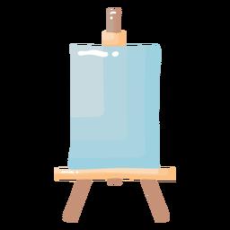 Cavalete de pintura brilhante
