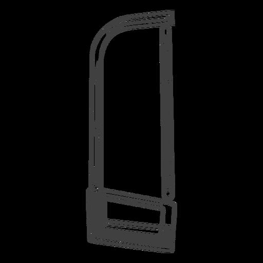 Herramienta de sierra para metales simple