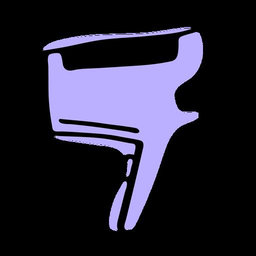 Hair blower duotone
