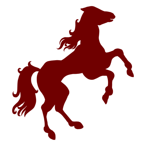 Heráldica emblema caballo silueta
