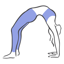 Pose de estiramiento de espalda Pilates