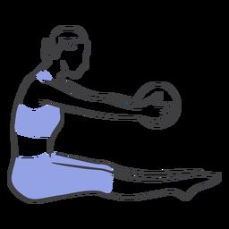 Pelota de estiramiento Pilates
