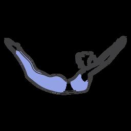 Pose de buceo cisne pilates