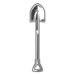Shovel tool simple