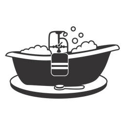 Bañera silueta cool