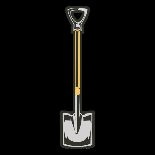 Tools colored shovel