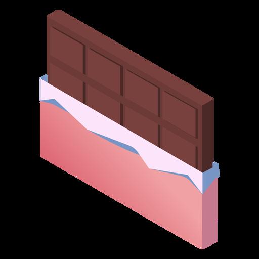 Valentines chocolate cute isometric