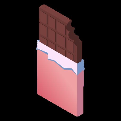 Valentines chocolate isometric Transparent PNG