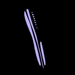 Dente largo pente duotônico