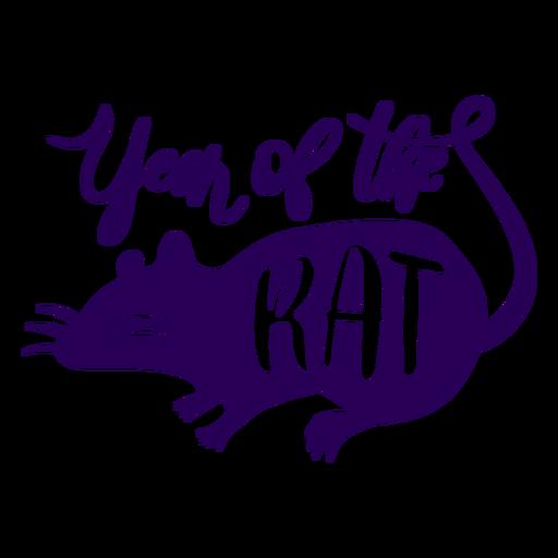 Año de la rata chino