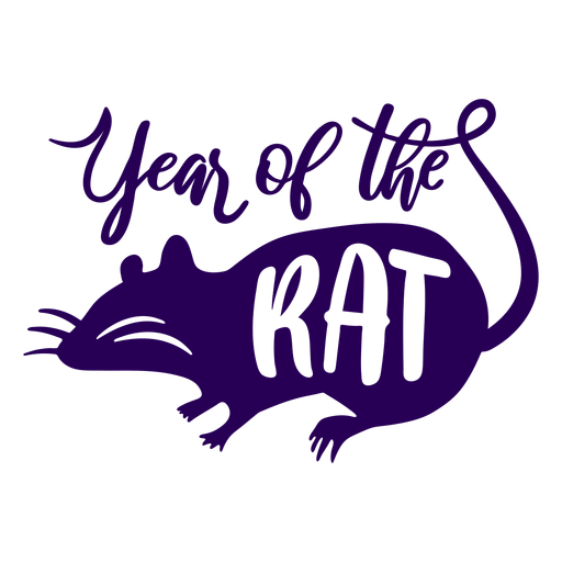 Year of the rat chinese