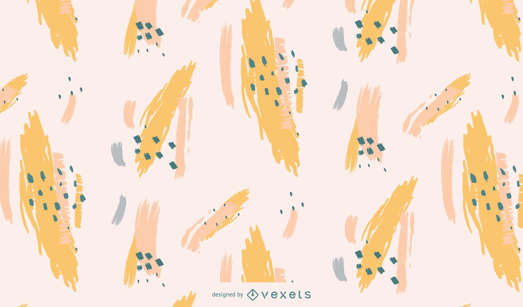 Artistic abstract pattern design