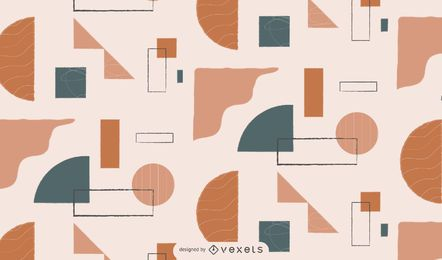 Abstract geometric patten design