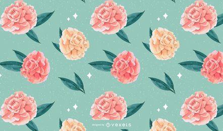 Floral Watercolor Pattern Design