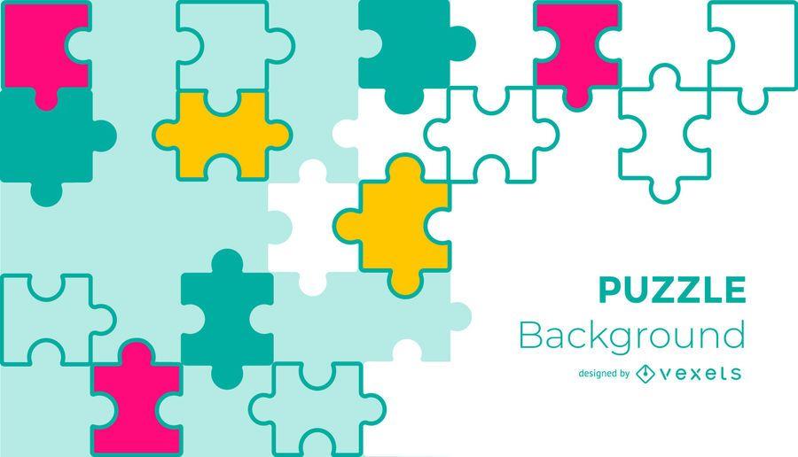 Puzzle Design Hintergrund