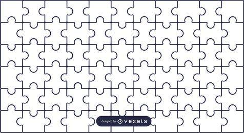 Fundo de quebra-cabeça simples