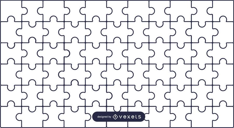 Simple puzzle background
