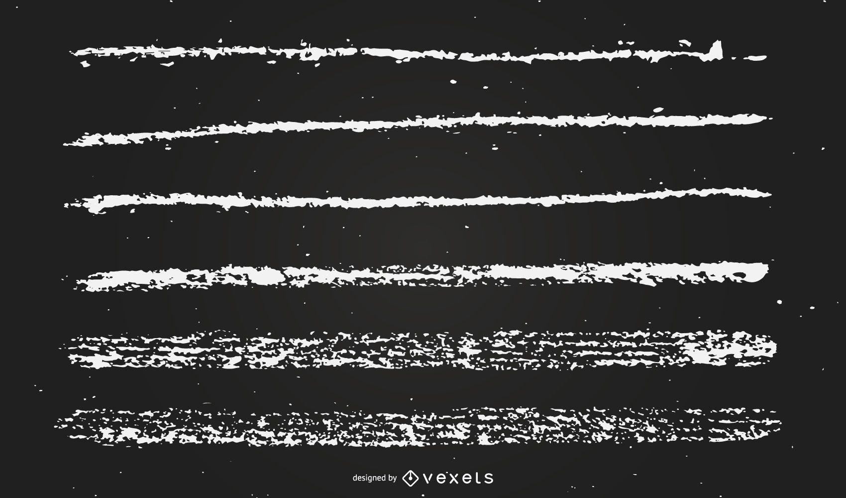 chalk lines illustration