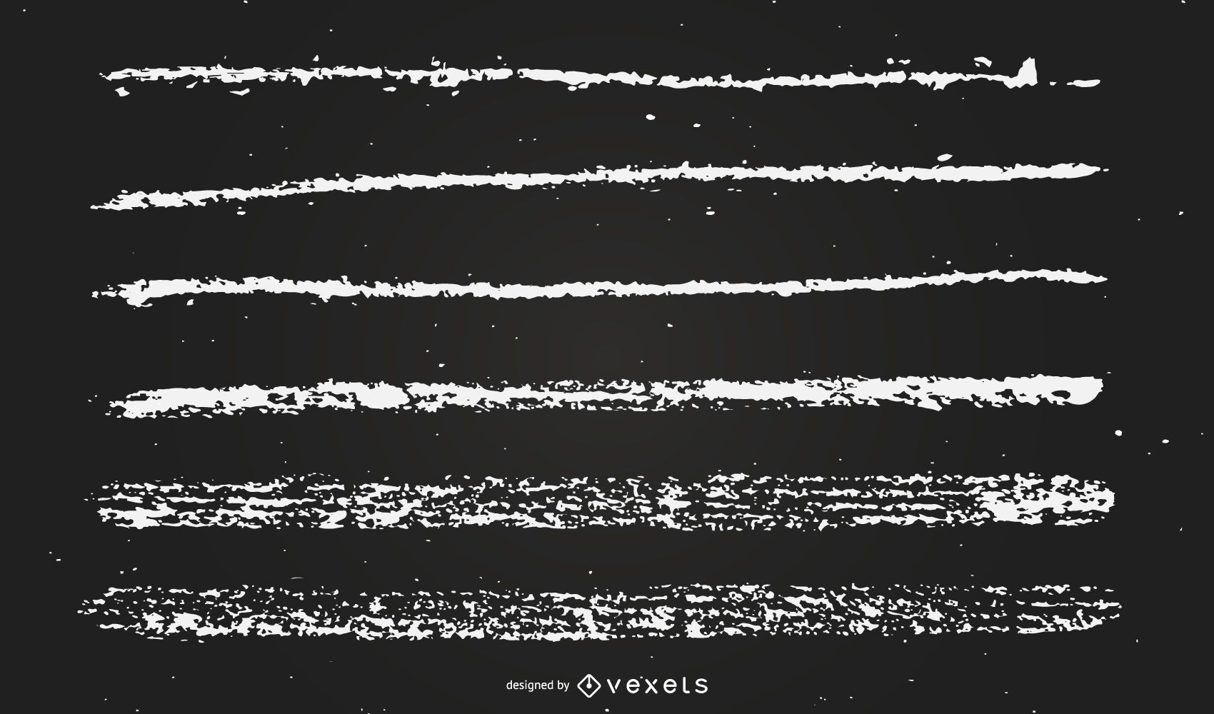 ilustración de líneas de tiza