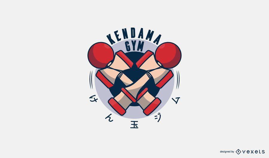 Kendana Gym Logo Design