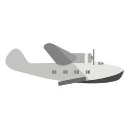 Amphibious aircraft illustration