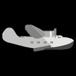 Ilustración de aviones anfibios