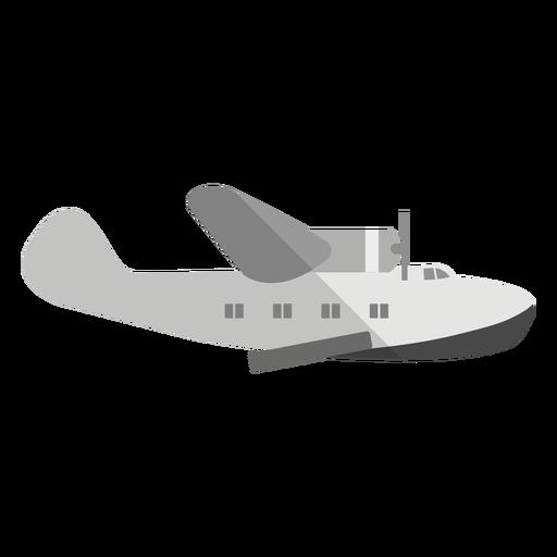 Amphibious aircraft illustration