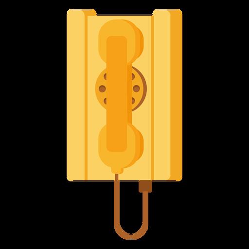 Antique telephone illustration Transparent PNG