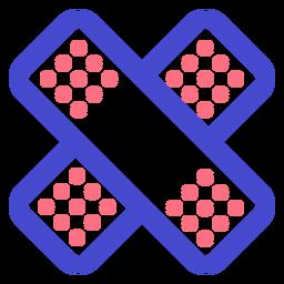 Icono de trazo de curitas