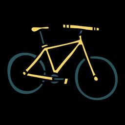 Ilustração de transporte de bicicleta