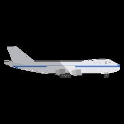 Ilustración de jet de negocios