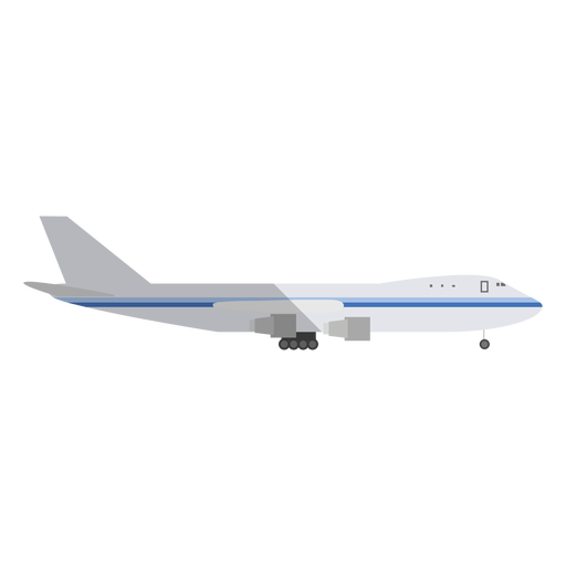 Business jet illustration