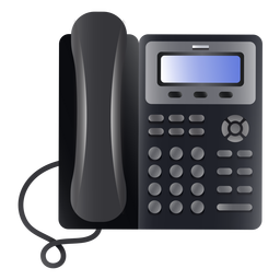 Business phone illustration