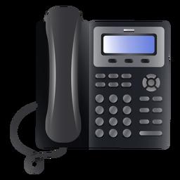 Ilustración de teléfono comercial