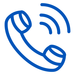 Call stroke icon