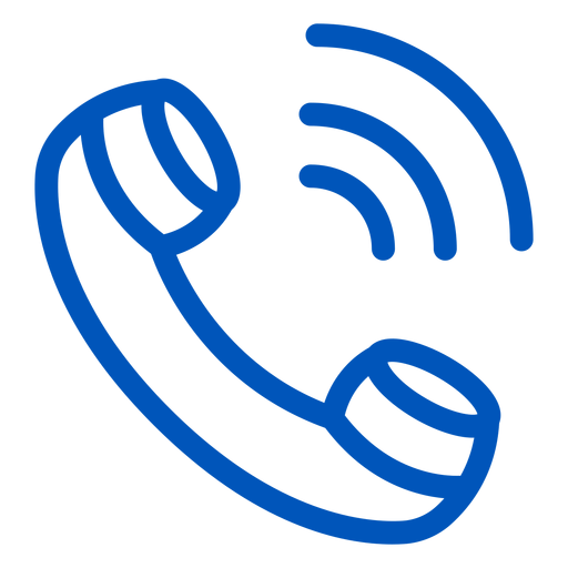 Call stroke icon