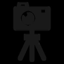 Trípode de cámara negro