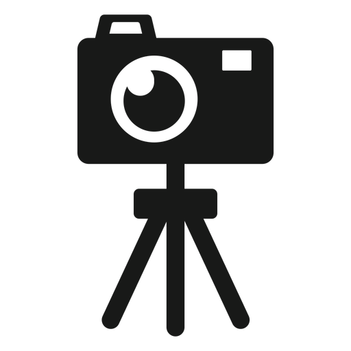 Camera tripod black