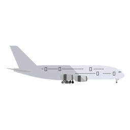 Cargo aircraft illustration