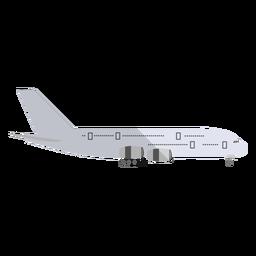 Ilustração de aeronaves de carga