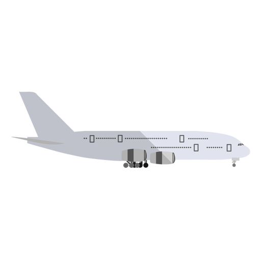 Cargo aircraft illustration