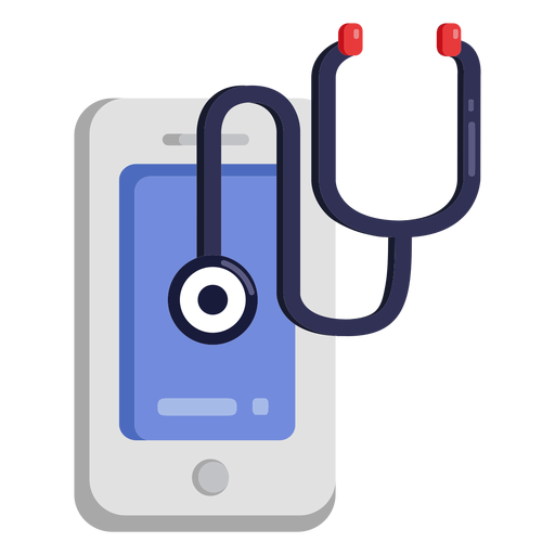 Cellphone stethoscope icon Transparent PNG