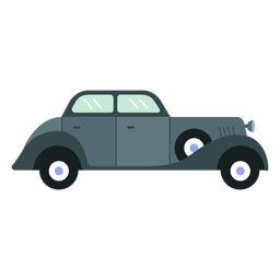 Carro antigo clássico plana