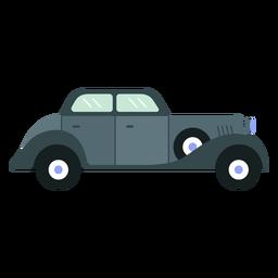 Classic old car flat