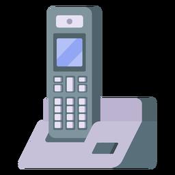 Ilustração do telefone sem fio