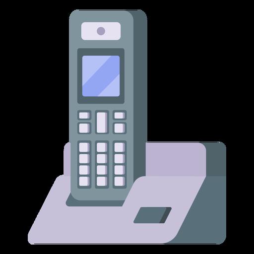 Cordless telephone illustration Transparent PNG