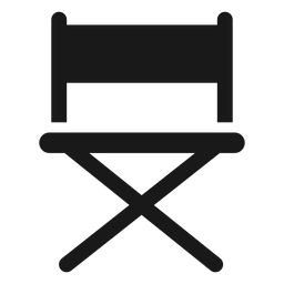 Directors chair black
