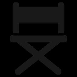 Direktoren Stuhl schwarz