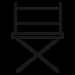 Directores silla de trazo