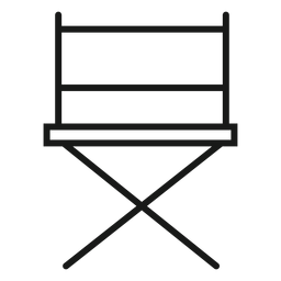 Directors chair stroke